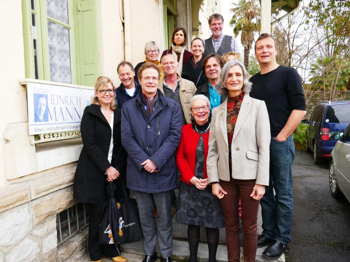 Visite de l'ambassadeur d'Allemagne Nikolaus Meyer-Landrut en 2020