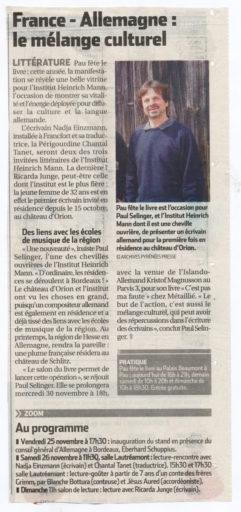 République des Pyrénées du 25/11/2011