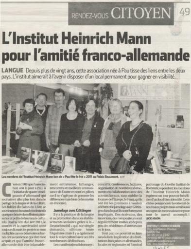 République des Pyrénées du 09/12/2011