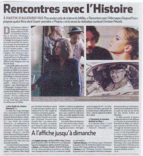 République des Pyrénées du 21/01/2015