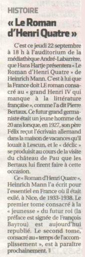 République des Pyrénées du 22/09/2016