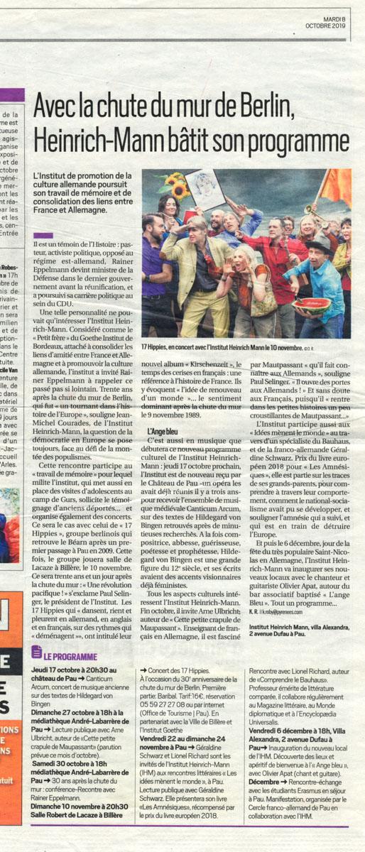 République des Pyrénées du 08/10/2019