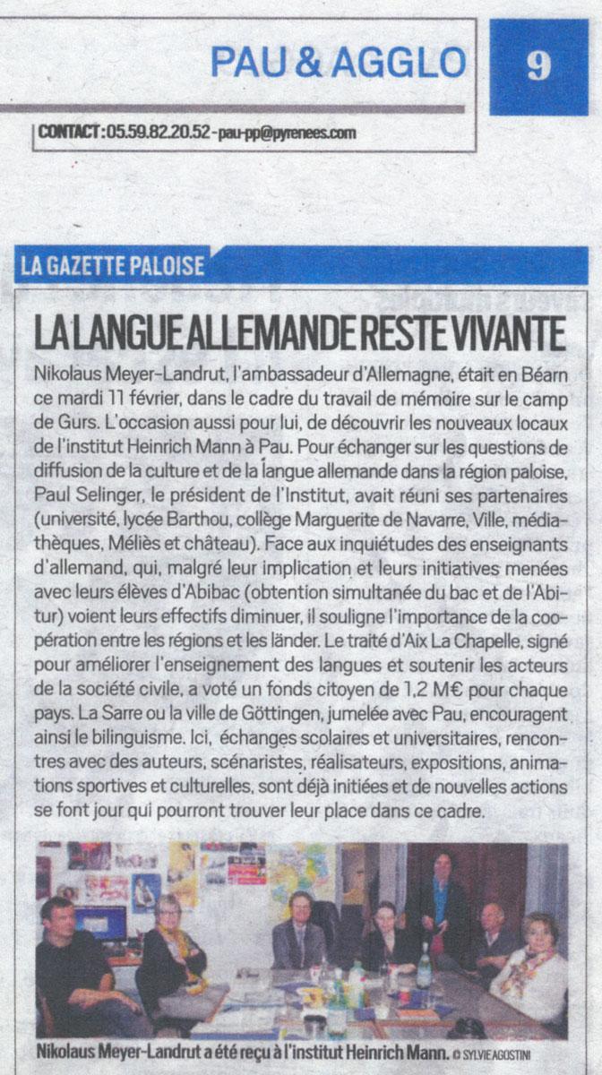 République des Pyrénées du 17/02/2020