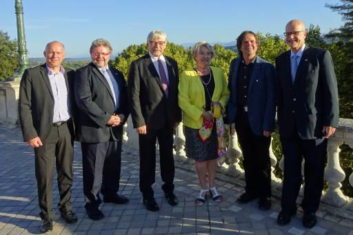 Le Maire de Götingen avec sa délégation en 2018
