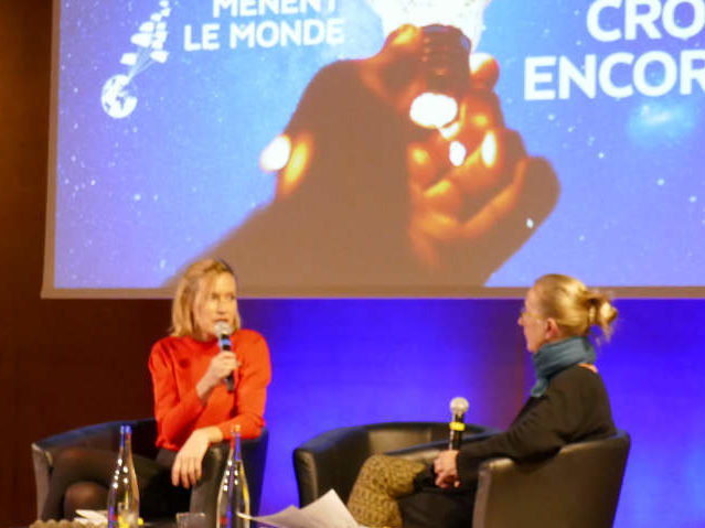 Géraldine Schwarz aux Idées Mènent Le Monde 2019